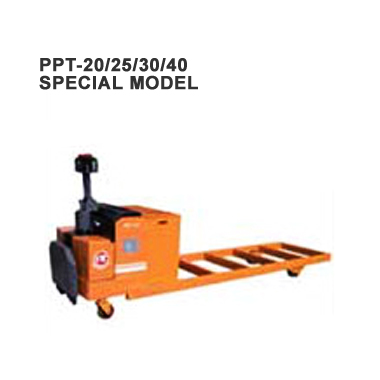 Automated Guided Vehicle System:Electric Pallet Truck (Load: 2Tons / 2.5Tons  / 3Tons t / 4 Tons ) PPT-20/25/30/40 Special Model