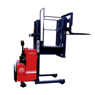 Automated Guided Vehicle System:Powered Order Picker Stacker POPS-10
