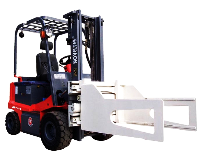 Automated Guided Vehicle System: Advanced Electric Forklift Truck(Load:1.5Tons/2Tons/2.5Tons,3300LB~5500LB  + Bale Clamp
