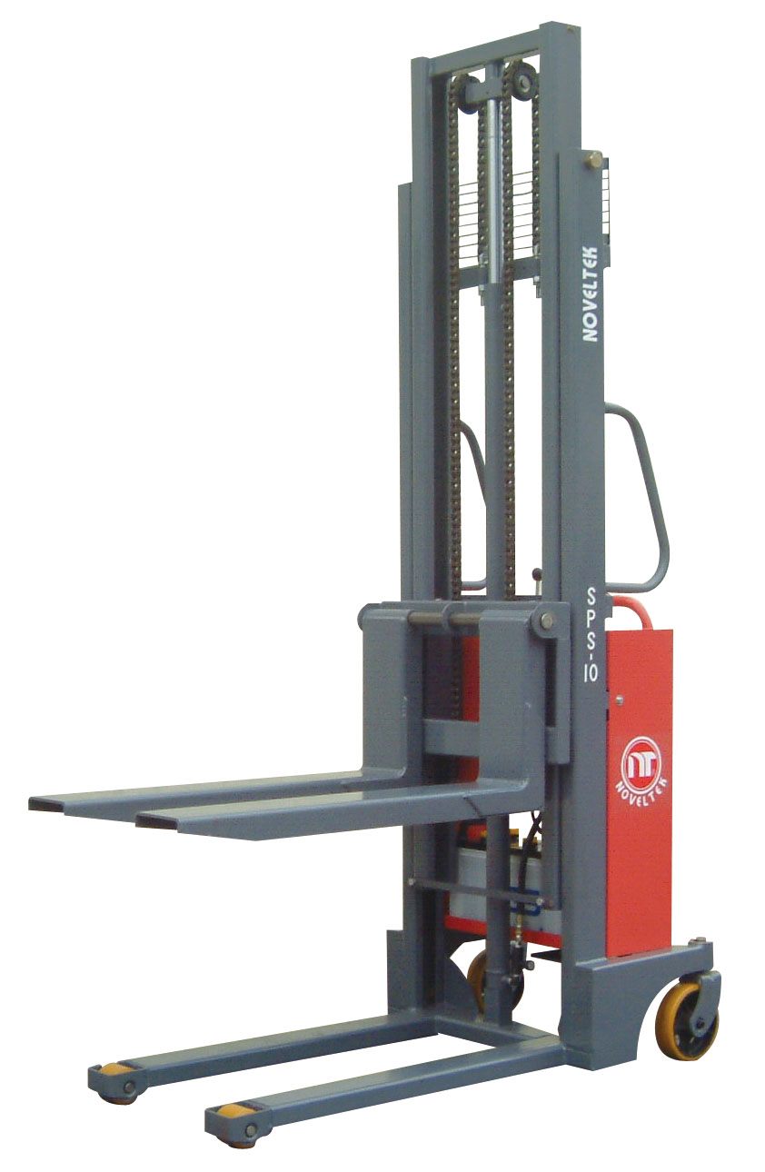 Automated Guided Vehicle System:Powered Pallet Stacker(Load:1 Ton/1.2 Tons/1.5 Tons )SPS-10/12/15