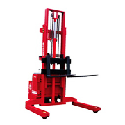 Power Pallet Stacker:Powered Pallet Stacker(Wide-straddle type)(Load:1Ton/1.5Tons/1.8TONS/2Tons,2200LB~4400LB)PPS-10W/15W/18W/20W