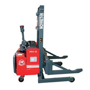 Power Stacker:Powered Pallet Stacker Special Model  Shaft Carrier(Load:1Ton/1.5Tons/2Tons,2200LB~4400LB)PPS-10W/15W/20W