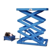 :Electric lift platform(Table) Three-stage  2-cylinder(Load:1000~3000kg)ELT-307DA~312DA