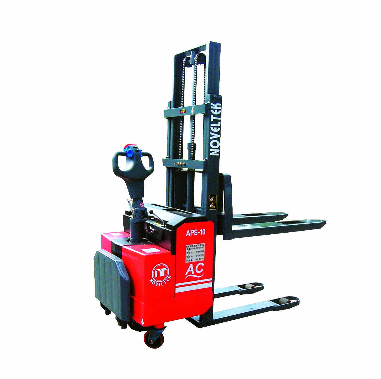 Power Pallet Stacker:Advanced Powered Pallet Stacker (AC System)(Load:1 Ton /1.5 Tons /1.8 Tons /2 Tons,2200LB~4400LB )APS-10/15/18/20