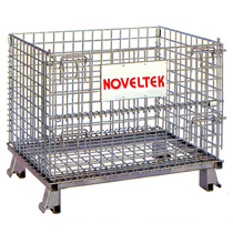 Storage and transport cage metal box cages:Simple type Warehouse cage(L800x W500 xH520 mm)WC-E2